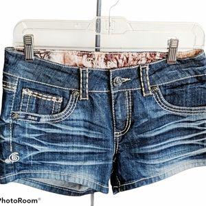 Adikto jean shorts